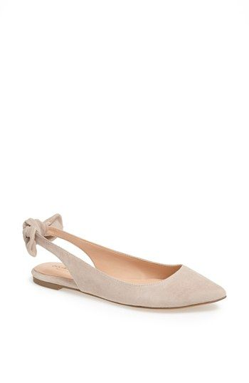 morganne suede flat / sole society
