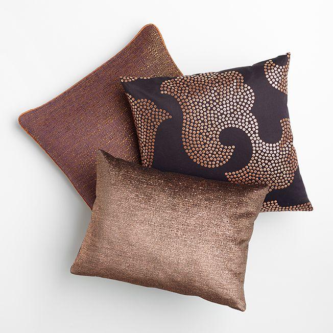 SAHCO Precious Metal cushions