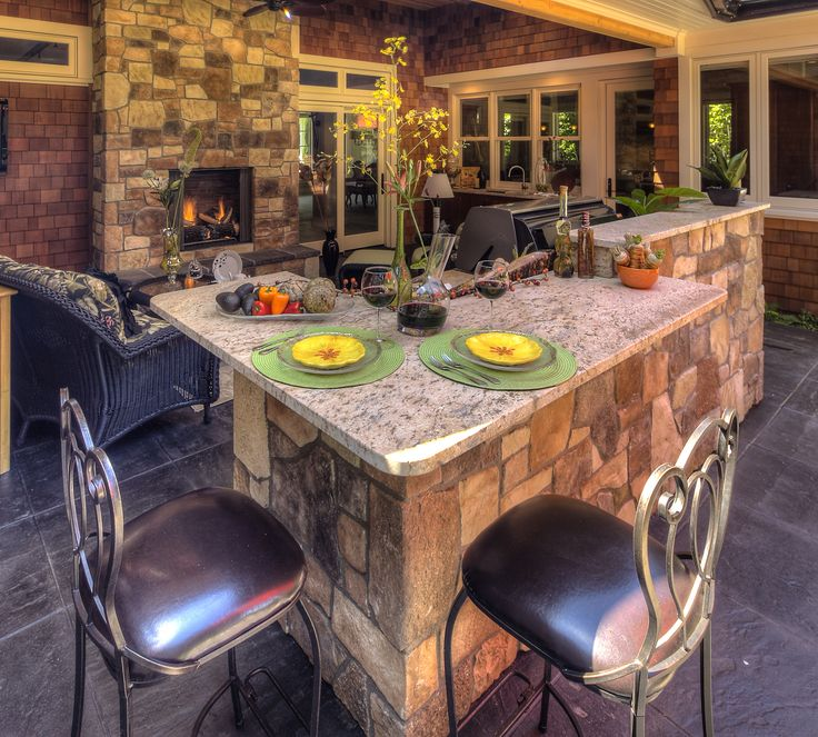 17 Best Images About Outdoor Kitchens On Pinterest