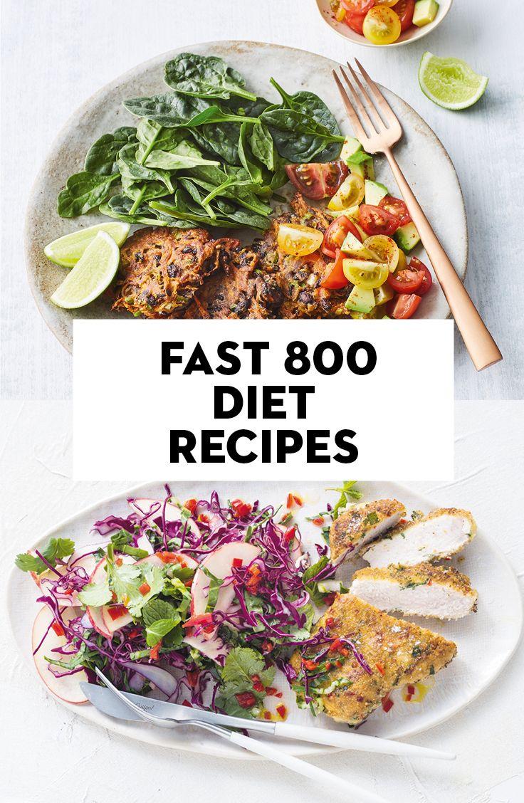 vegetarian diet 800-1000 calories per day
