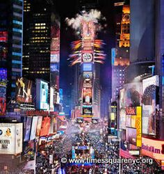 One of the biggest parties ever... New York City, Times Square, New Years Eve. I will do this some day.