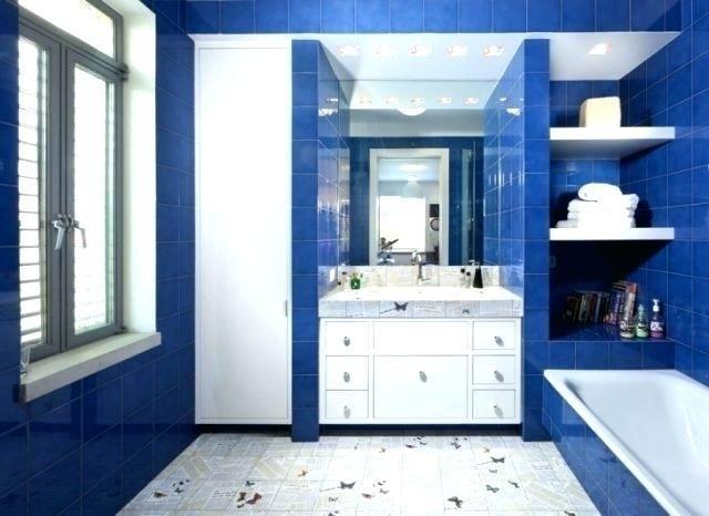 Blaue Und Weisse Badezimmer Ideen Badezimmer Blau Badezimmer