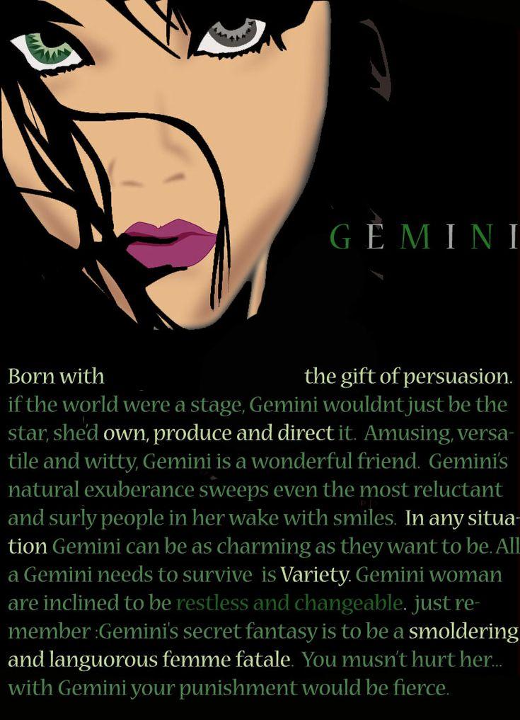 Zodiac- Gemini by soulessrobin.deviantart.com on @deviantART