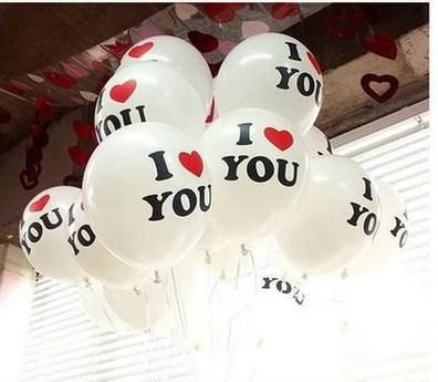 i love you balloons 2015 cute white wedding party festival decorations hottest cheap wedding supplies 22