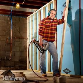 Finishing a basement is a perfect DIY project. For a fraction of the cost of an addition, you can convert basement space to valuable living space. Here's how.