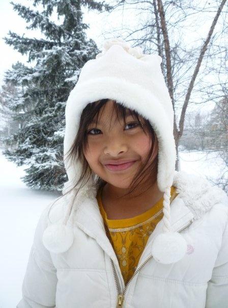 Thania - my über-cute niece!