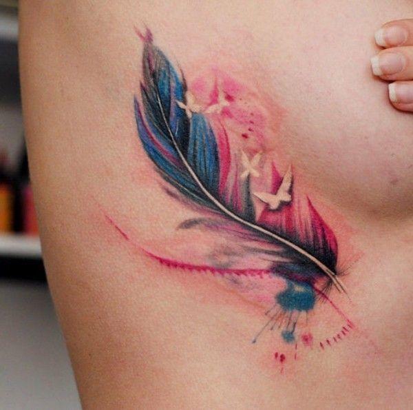 Aquarell Tattoo: Der farbenfrohe Trend unter den Tattoos   – Tattoos