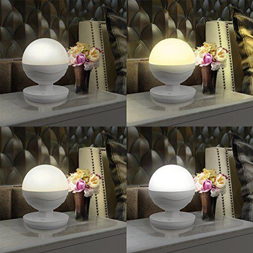 Dimmbar Mehrfunktional LED Tischleuchte Nachtlampe