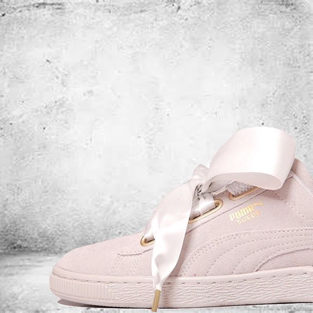 It's official.. Puma Suede Basket Heart Pump HAS LANDED!! ❣️ Shop now before it's too late!! Available online and selected stores only!  .  Product code | 275058  .  #puma #pumaseude #pumabasketheart #pumaseudebasketheart #womenstrainers #newin