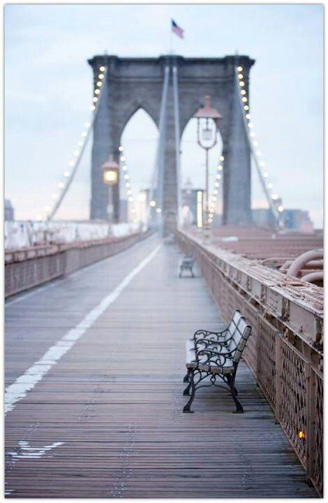 Brooklyn bridge. #travel #charming
