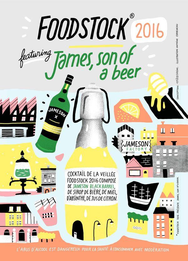 Le James Son of a beer du Woodstock 2016 #biere #cocktail #whisky #gastronomie #gastronomy