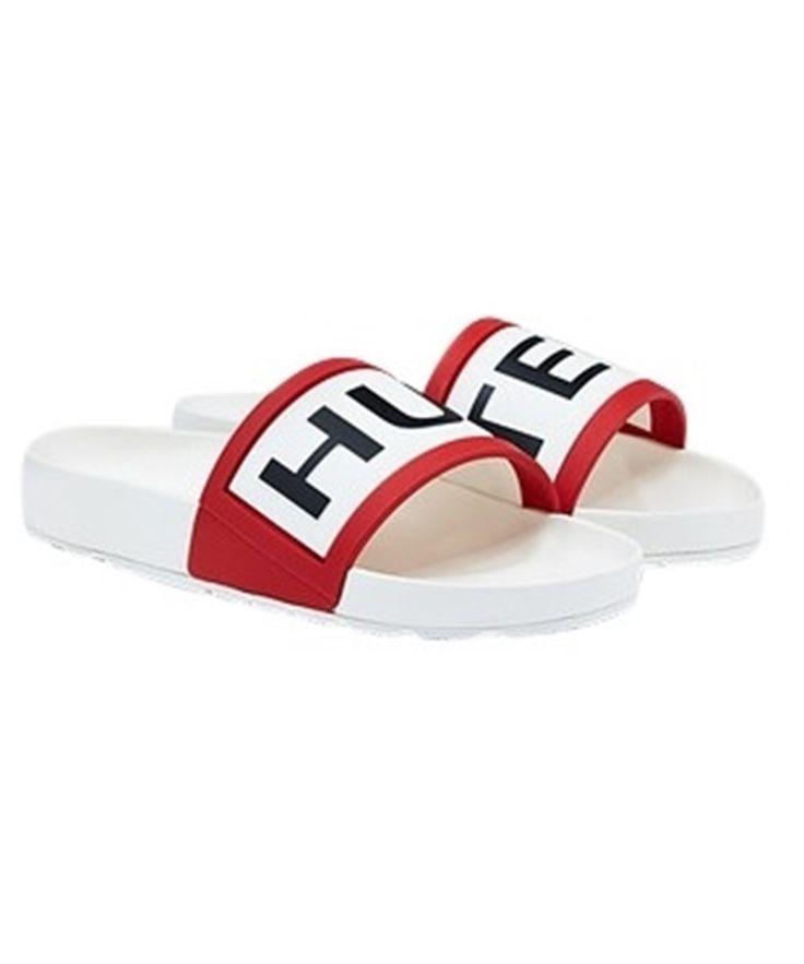 422a9edee79d16 Men s Hunter Slider Sandals in white