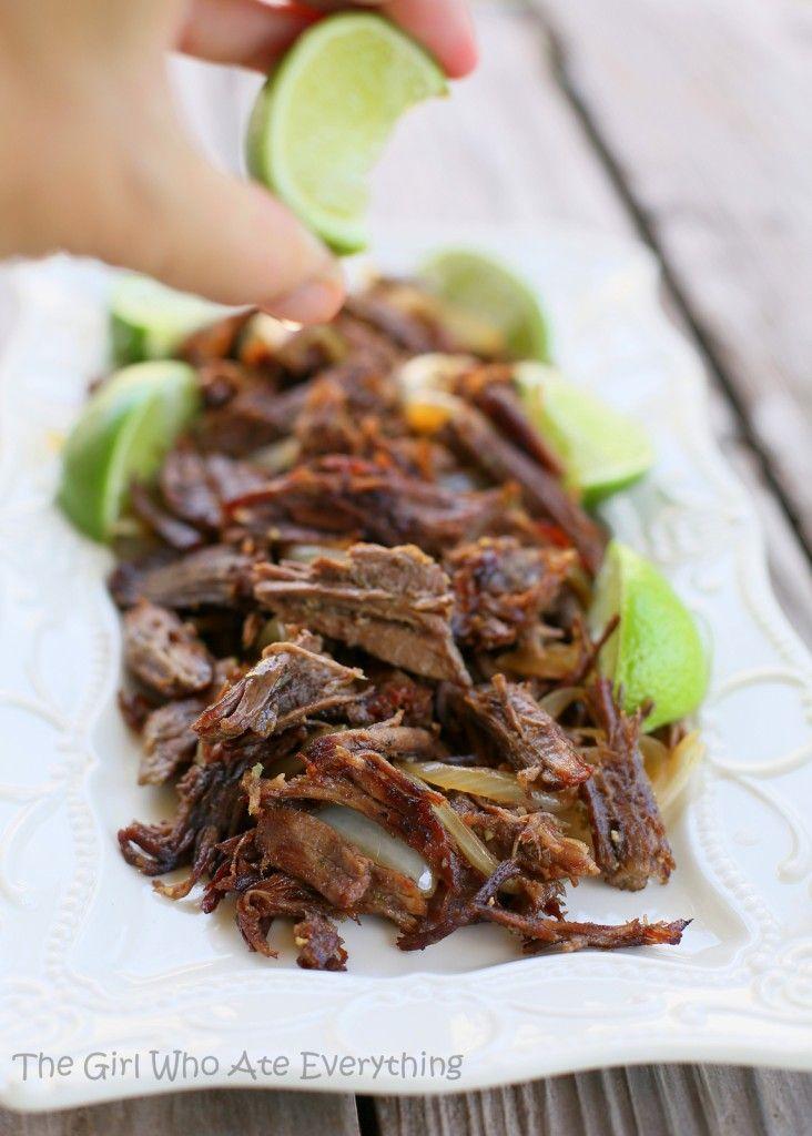 Cuban Shredded Beef