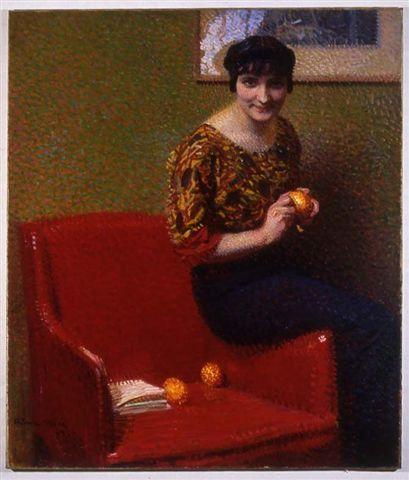 Arturo Noci, L'arancio, 1914