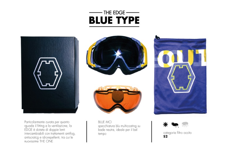 Blue Type EDGE...check our new collection on www.out-of.it