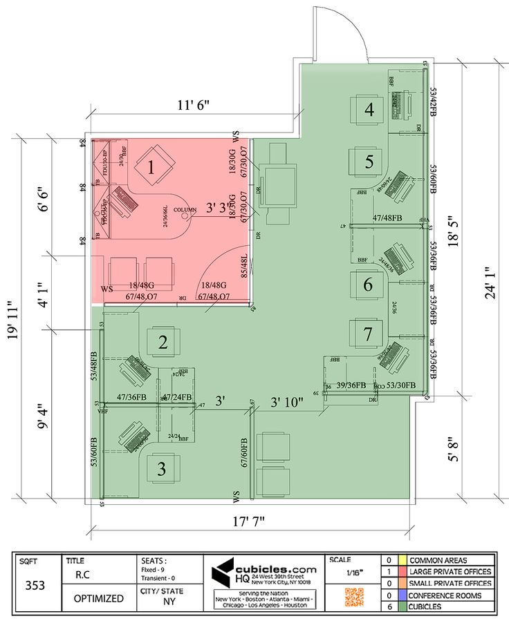 Floor plan of a business in ny cubiclelayout cubicle for Corporate office layout design