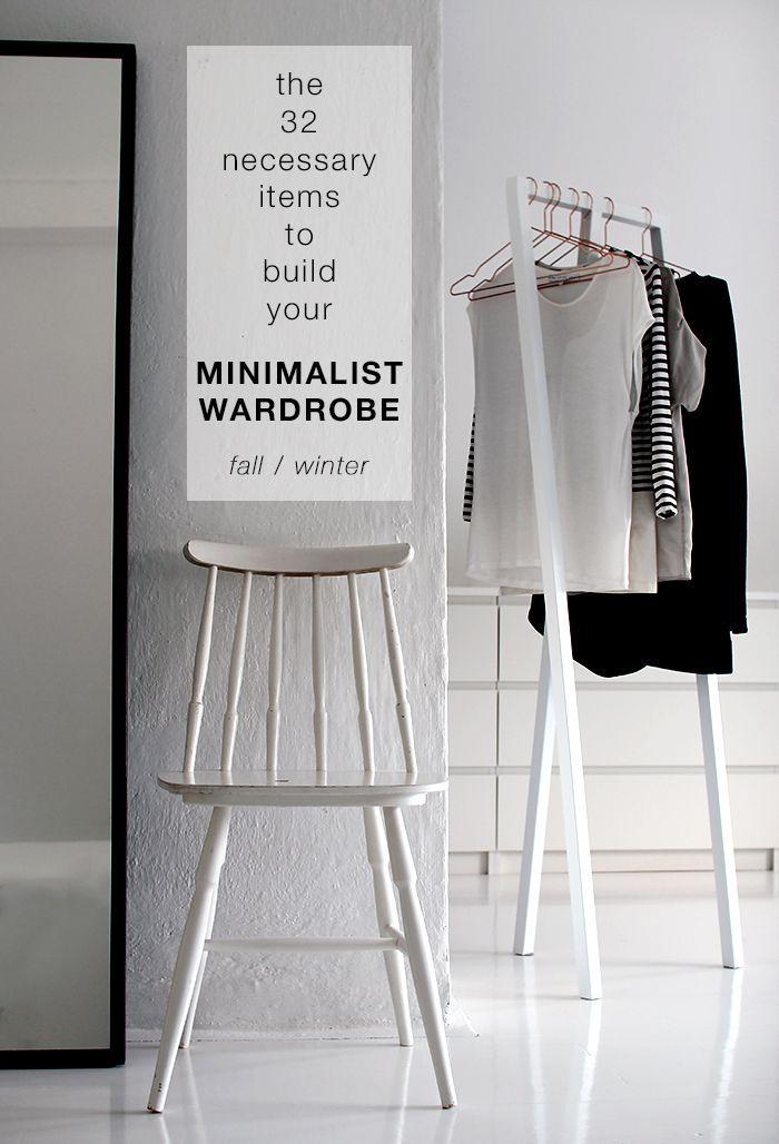 How to build your own minimalist wardrobe free checklist for Minimalist essentials