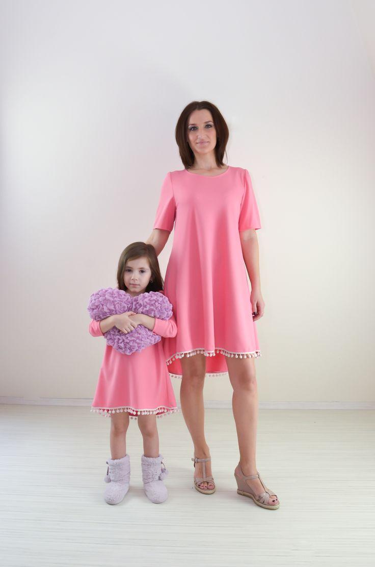 Pompons Pink Dress