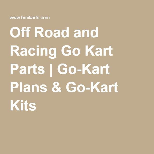 Off Road and Racing Go Kart Parts | Go-Kart Plans & Go-Kart Kits