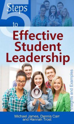 The book 5 Steps to Effective Student Leadership: Insights & Examples combines student affairs best practices with Ignatian spirituality. Inspired by the lives and experiences of actual student leaders, 5 Steps offers real-world examples of how to engage students in effective practices that both teach the individual and build the community. The authors are BC alumni Dennis Carr and Hannah Trost and Lynch School of Education lecturer Michael James