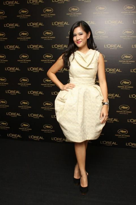 Dian Sastro in Didit Hediprasetyo #Cannes2012