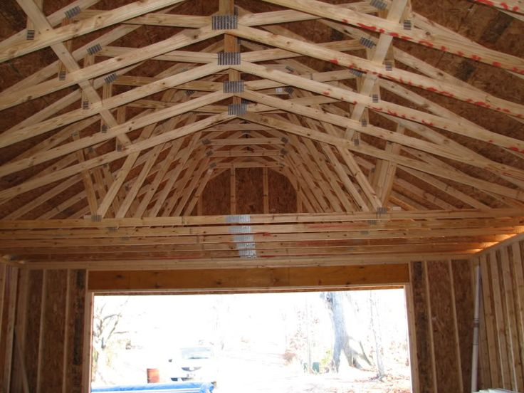24x36 in nc the garage journal board scissor truss garage plans with attic now available at behm design