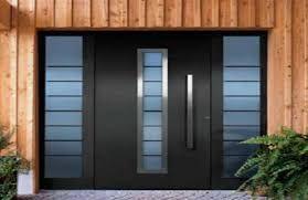 Resultado de imagen de puertas para exteriores de aluminio