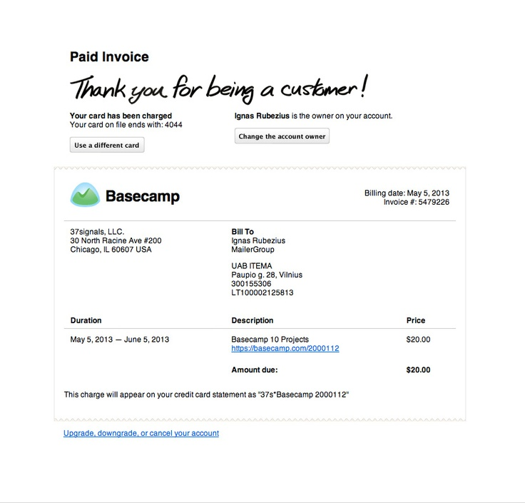 18 best transactional emails images on Pinterest Confirmation - email invoices