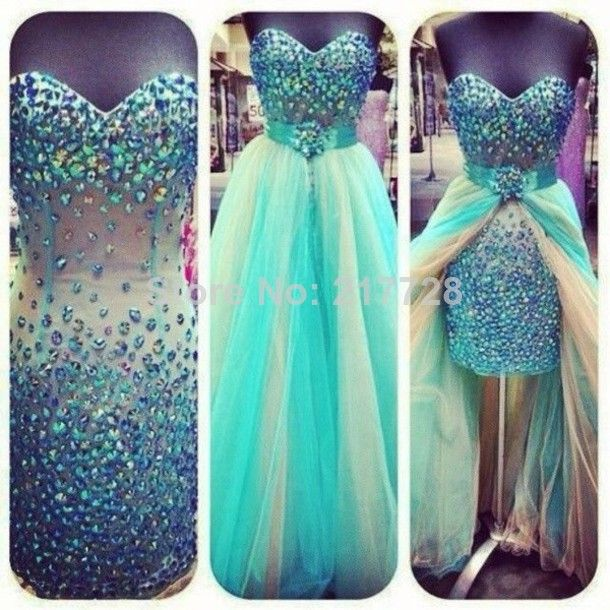 New 2014 Trends Real Made Sweetheart Crystal Beaded Sheath Sexy Vestido De Baile Free Shipping Prom Dress With Removable Skirt $189.00