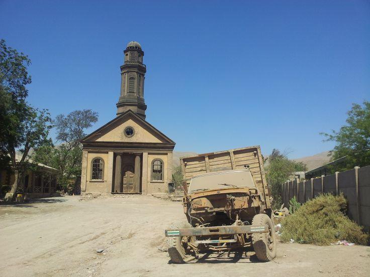 Iglesia de Nantoco, año 2012.