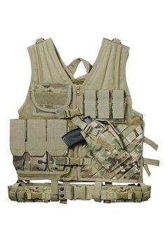Tactical Cross Draw Multicam Vest ! Buy Now at gorillasurplus.com