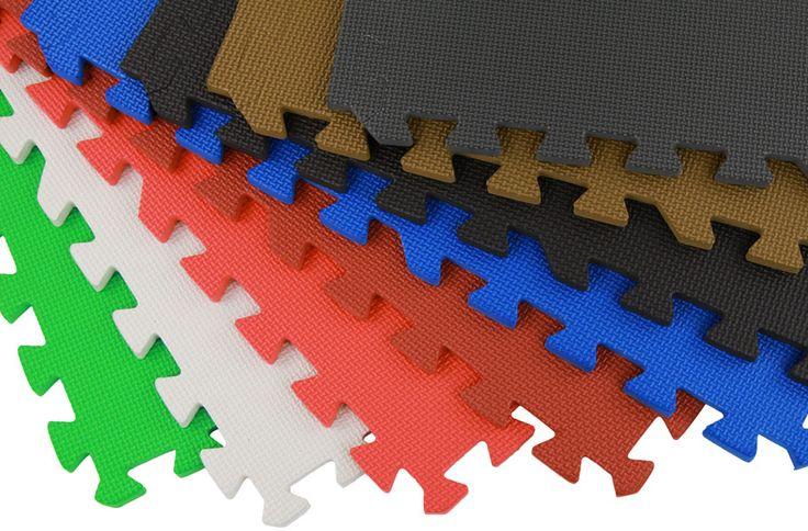 Eco-Soft Tiles - Interlocking Foam Mats