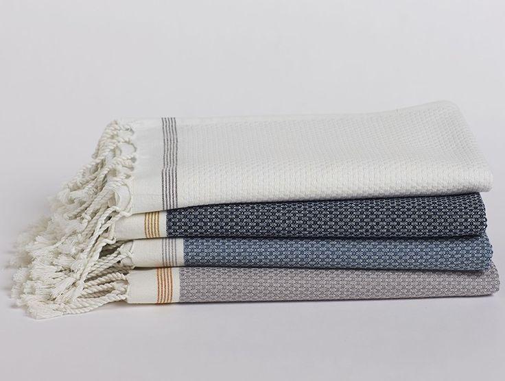 Mediterranean Bath Towels // Coyuchi