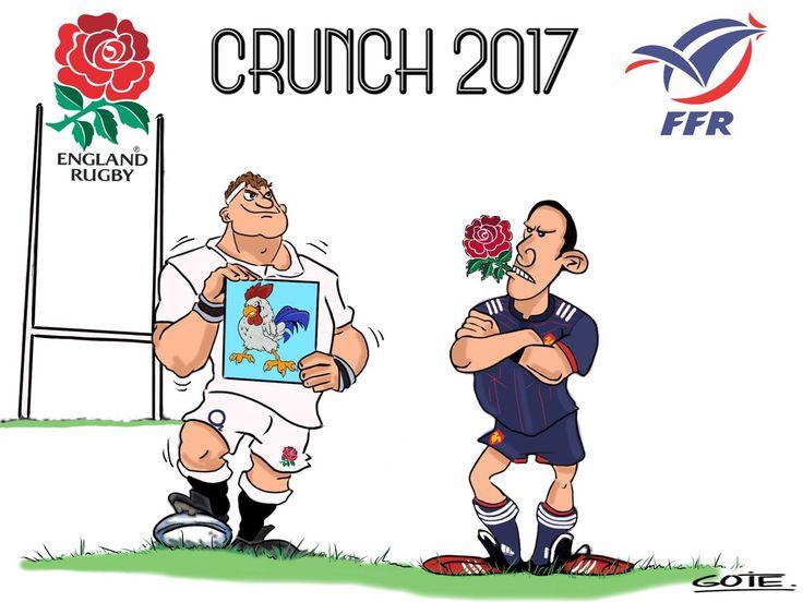 Tournoi des 6 nations : la France s'incline face à l'Angleterre (19-16) pour ce crunch 2017 ANGFRA ENGvFRA