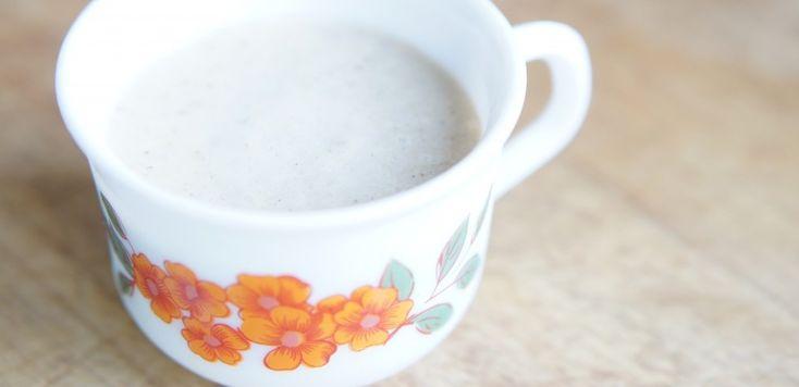 Rauw roomijs: spicy kaneel (suikervrij, zuivelvrij) - Voedzo Tip: Dubbele espresso toevoegen!