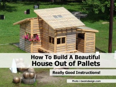 129 best images about treehouses on pinterest trees a for How to build a house out of wood pallets