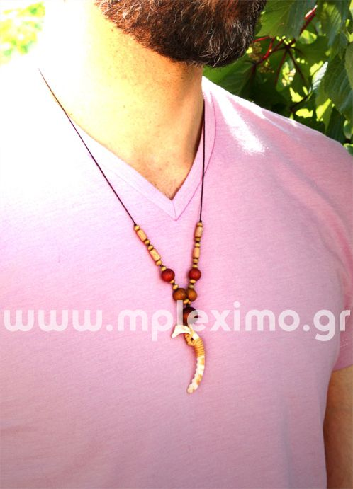 shell piece necklace