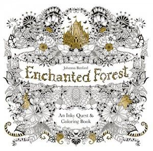 Enchanted Forest: An Inky Quest and Colouring Book (Johanna Basford ) Kniha
