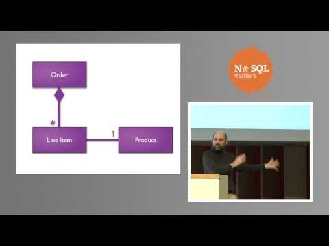 NoSQL Distilled to an hour by Martin Fowler