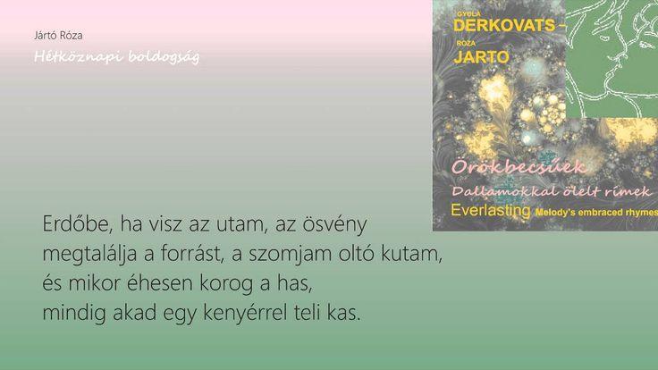 Derkovats-Jarto: Workaday Gladness/Hétköznapi boldogság