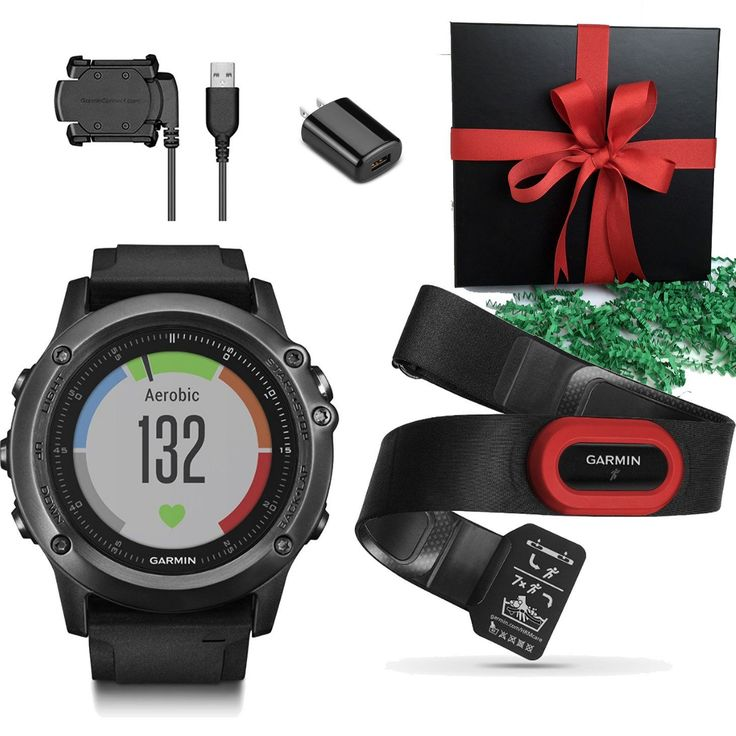 Garmin Fenix 3 HR, Gray GPS Activity Tracker Multi Sports Fitness Compass Watch, or Performer Bundle(with HRM Band) IN GIFT BOX *** This is an Amazon Affiliate link. To view further for this item, visit the image link.
