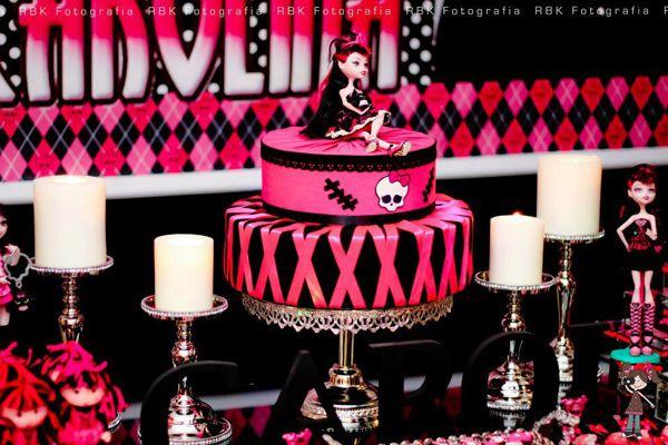 monster high party | Monster High 8th Birthday Party via Kara's Party Ideas | Kara ...
