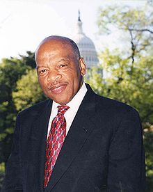 "John Robert Lewis (born February 21, 1940) is an American politician and civil rights leader. He is the U.S. Representative for Georgia's 5th congressional district, serving since 1987, and is the deanof the Georgia congressional delegation. Lewis was one of the ""Big Six"" leaders in the American Civil Rights Movement and chairman of the Student Nonviolent Coordinating Committee (SNCC), playing a key role in the struggle to end legalized racial discrimination and segregation."