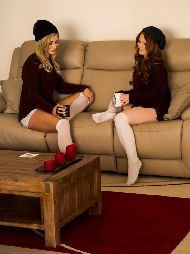 A cup of tea solves everything.   By Greg Sands   #Winter #LongSocks #Socks #Beanies #Sweaters