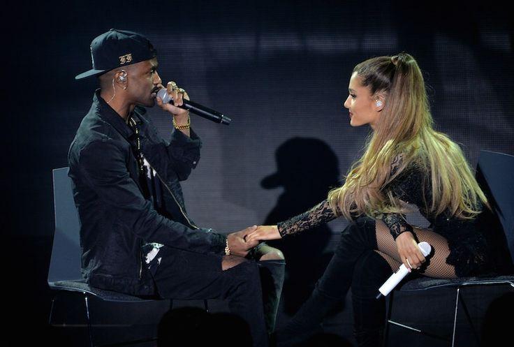6 of Ariana Grande & Big Sean's Cutest Moments Because Not Everyone Has Roller Coaster Kiss Skills
