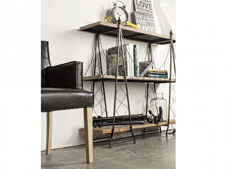 La libreria Brooklyn, dal design unico e particolare, è perfetta per arredare in stile moderno e metropolitano salotto, studio o camera da letto :-)