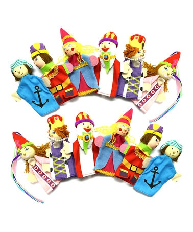 Take a look at this Royal Kingdom Finger Puppet Set by Stocking Stuffers: Toys & Books on #zulily today!