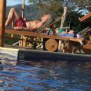 Robert Plant and Deborah Rose in Costa Rica January 2016 - FamousFix