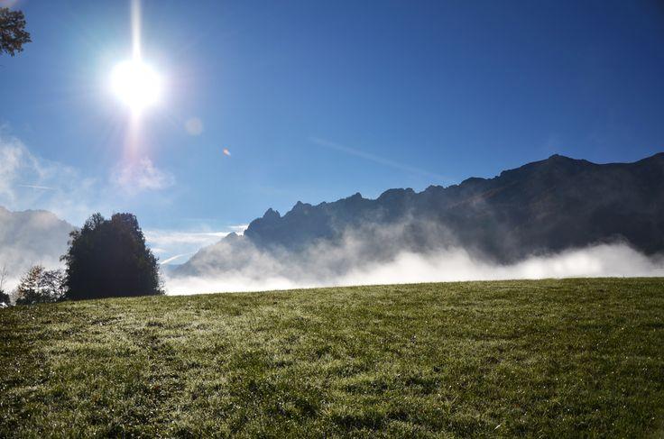 Begeisterung Leben #natur #inspiration #raum #ruhe #bayerisch gmain