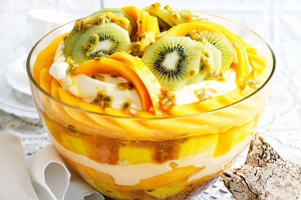 With luscious layers of cream, custard and summer fruit, this make-ahead trifle is truly tempting.